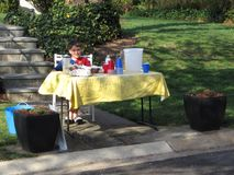 Kenwood Maryland Lemonade Stand Royalty Free Stock Photos
