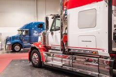 Kenworth Lonestar Międzynarodowa ciężarówka Fotografia Royalty Free