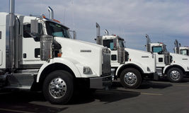 2015 Kenworth T800 Trucks Stock Photo