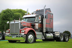Kenworth 900A year 1976 Show Truck royalty free stock images