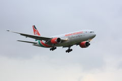 Kenya Airways Boeing 777 Stock Photography