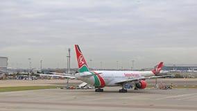 Kenya Airways Royalty Free Stock Photos