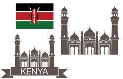 Kenya. Architecture. Nairobi (Vector illustration Stock Photo