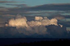 Kenya Clouds at Sunset Royalty Free Stock Photos