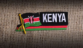 Kenya flag. Stock Photo