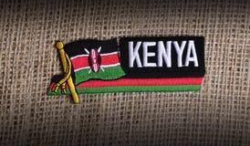 Kenya flag. Stock Photo