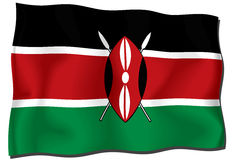 Kenya Flag Stock Photos