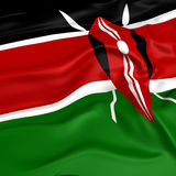 Kenya  flag picture Royalty Free Stock Images