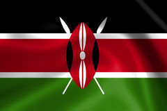 Kenya flag Royalty Free Stock Image