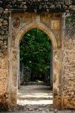 Kenya, Gede ruins laid in the vicinity of the Malindi resort Stock Image