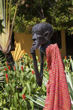 Kenya Masai wood carving Royalty Free Stock Photography