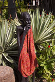Kenya Masai wood carving Stock Photo