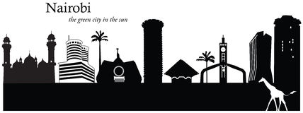 kenya Nairobi Ilustracja Wektor