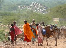 KENYA - NOVEMBER 28 Fotografering för Bildbyråer