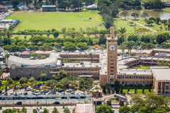 Kenya Parliament Buildings in the city center of Nairobi. Stock Photos