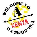 Kenya stamp rubber grunge Royalty Free Stock Photography