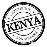 Kenya stamp rubber grunge Stock Photos
