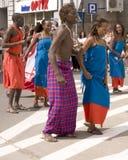 Kenya traditional folk group Royalty Free Stock Image