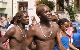 Kenya traditional folk group Stock Photography