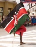 Kenya traditional folk group Royalty Free Stock Photo
