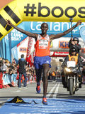 Kenyan athlete Wilson Kipsang Stock Photos