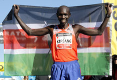 Kenyan athlete Wilson Kipsang Stock Photo