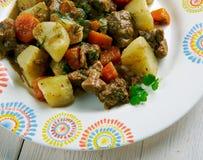 Kenyan Beef Stew royaltyfria bilder