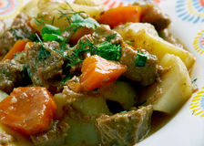 Kenyan Beef Stew Royalty Free Stock Images