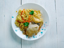 Kenyan biryani Stock Photography