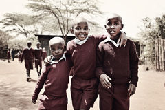 Kenyan boys Royalty Free Stock Photos