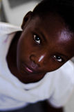 Kenyan child,african eyes stock images