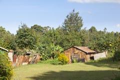 Kenyan Country House Royaltyfria Bilder