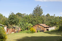 Kenyan Country House Royalty Free Stock Images