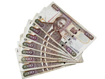Kenyan currency royalty free stock photos