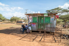 Kenyan Elections im Jahre 2017, Kenia, Afrika Stockfotografie