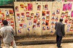 Kenyan Elections im Jahre 2017, Kenia, Afrika Lizenzfreies Stockfoto