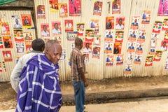 Kenyan Elections im Jahre 2017, Kenia, Afrika Lizenzfreies Stockbild