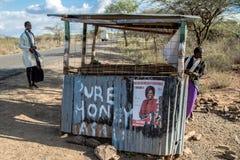 Kenyan Elections im Jahre 2017, Kenia, Afrika Lizenzfreie Stockfotografie