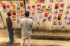 Kenyan Elections in 2017, Kenya, Africa Royalty Free Stock Photo