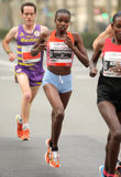 Kenyan half distance runner Josephine Chepkoech Royalty Free Stock Photos