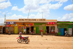 Kenyan lifestyle Royalty Free Stock Images