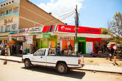 Kenyan lifestyle Stock Photography