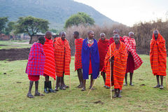 Kenyan masai Stock Photos
