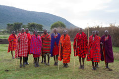 Kenyan masai Royalty Free Stock Photo
