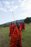 Kenyan masai Stock Images