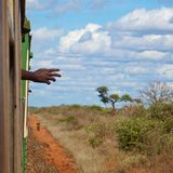 Kenyan Train Stock Photography
