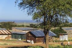 Kenyan village Royalty Free Stock Image