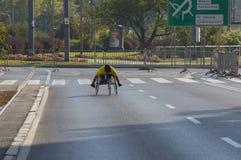 "Kenyans 2016 för 1/2 maratonPrague †""snabbast i Warszawa Arkivfoto"