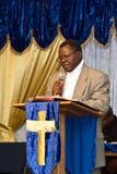 Kenyansk amerikansk pastor Fotografering för Bildbyråer