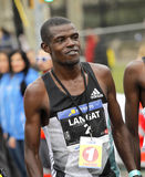 Kenyansk idrottsman nen Leonard Kipkoech Langat Royaltyfri Fotografi
